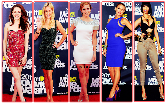 2011 Movie Awards: Red Carpet Fashion