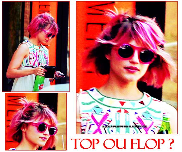 Dianna Agron : Nouvelle coiffure ... ratée.
