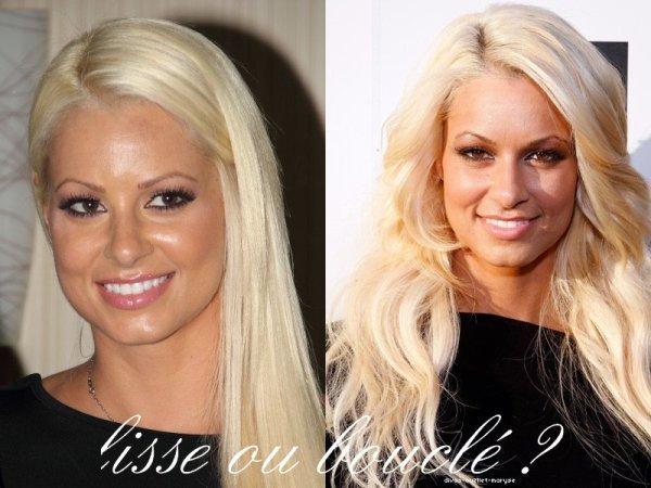 Maryse Cheveux Lisse ou Bouclé ?