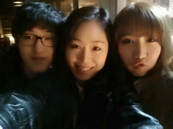 Mon frère Zhang JI moi et Miyu <3 :)