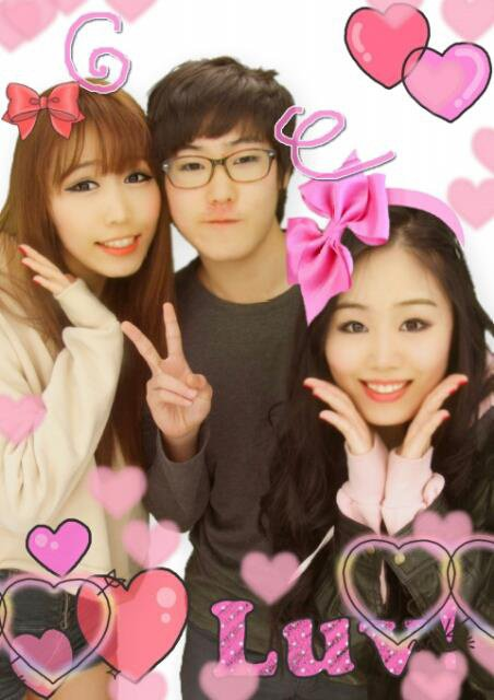 My sister Miu &brother Ji hoon ♥♥♥