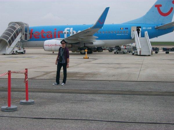Le bonheur de prendre l'avion et decoller vers ce joli monde qu'est le ciel