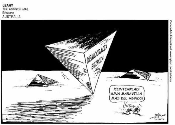 Democracia egipcia: