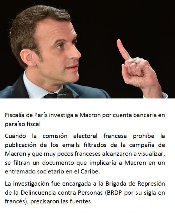 Antes Macron que la República