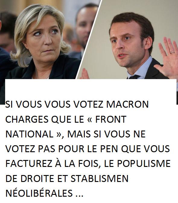 Macron et Le Pen provoque ses effets