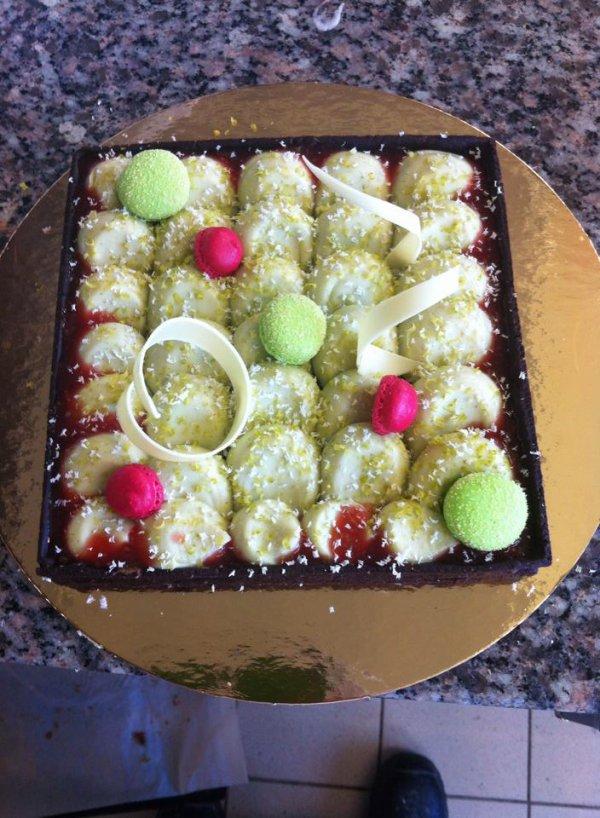 Gâteau au macaron