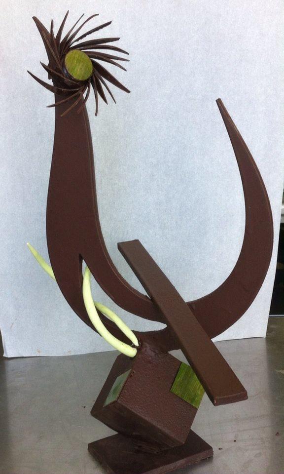 Ma sculpture en poule