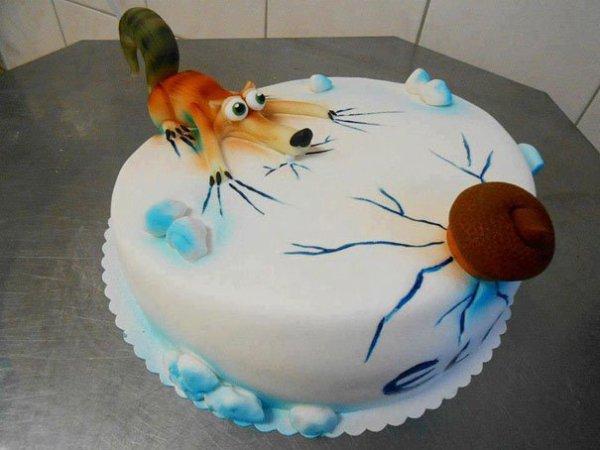 Gâteau âge de glace