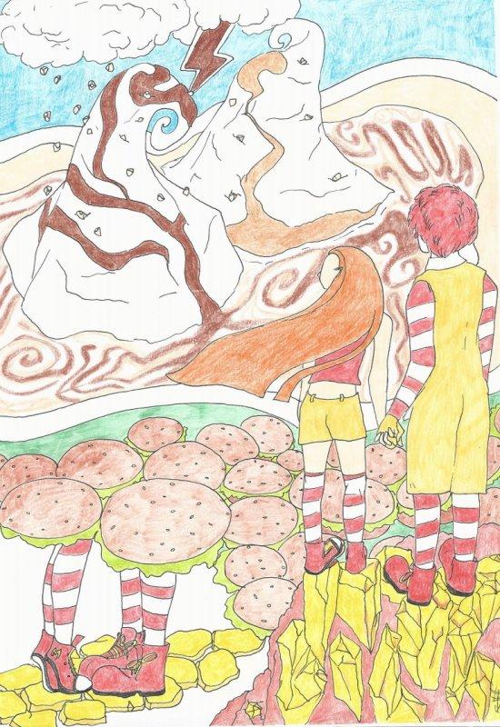 Les Fanarts de Sacha et de Newgate Ōkami