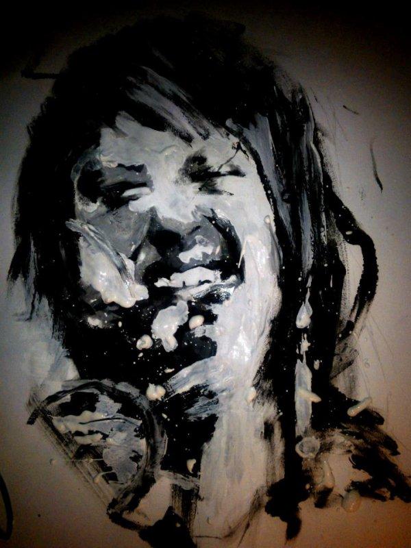 Peinture de Hayley Williams