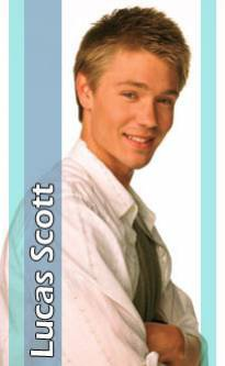 Presentation de Chad Michael Muray as Lucas Scott.