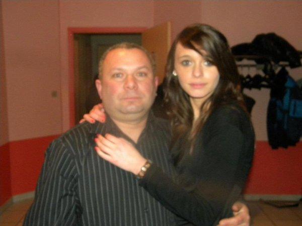 Mon père et moi <3