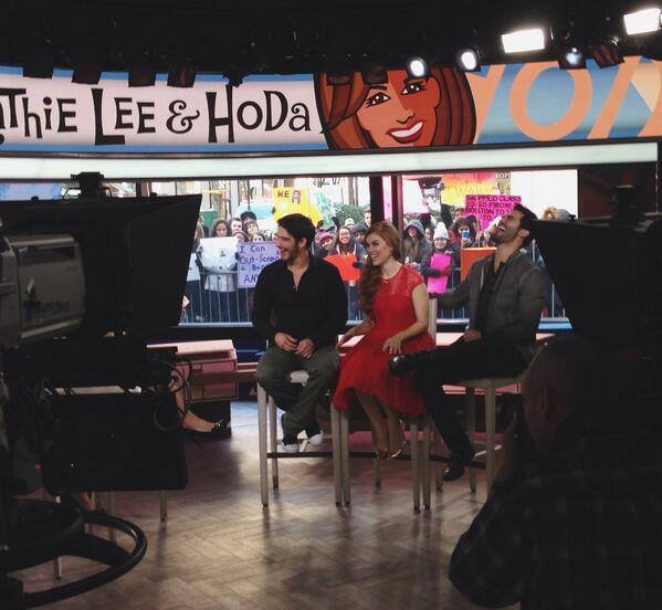 Today Show ! #Marie