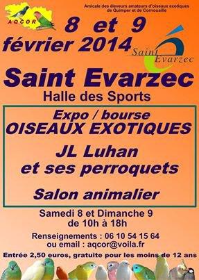 EXPO BOURSE .DE ST EVARZEC . FINISTERE . BRETAGNE .