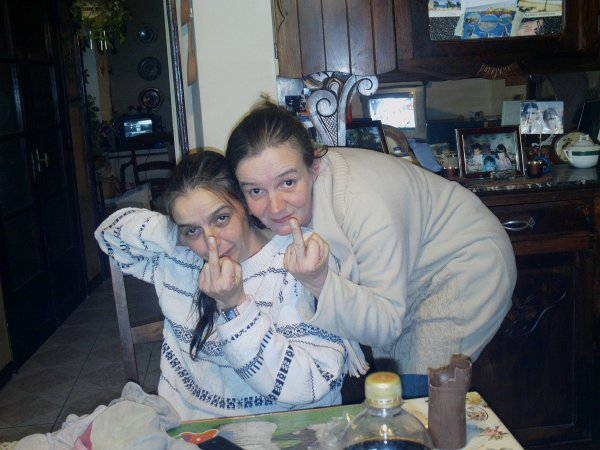 ma mere et ma tante !!