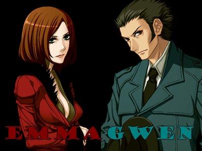 Les différents personnages de TNC