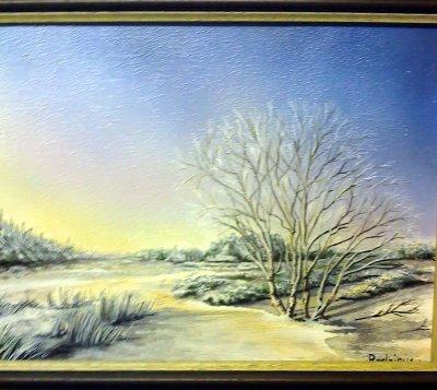 Brume d'hiver et autres frimas raconté en paysage !
