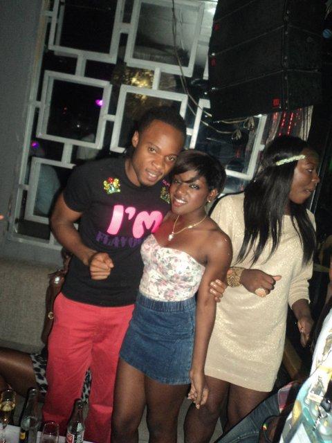 Flavour et moi á Le Klubb(Kinshasa)