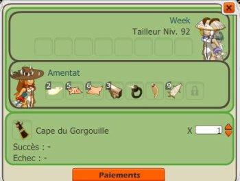 La cape gorgouille