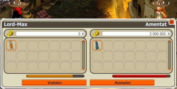 Stuff amentat et point de vue pvp