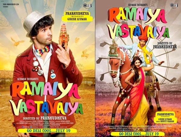 Bande Annonce du film Ramaiya Vastavaiya (Hindi)