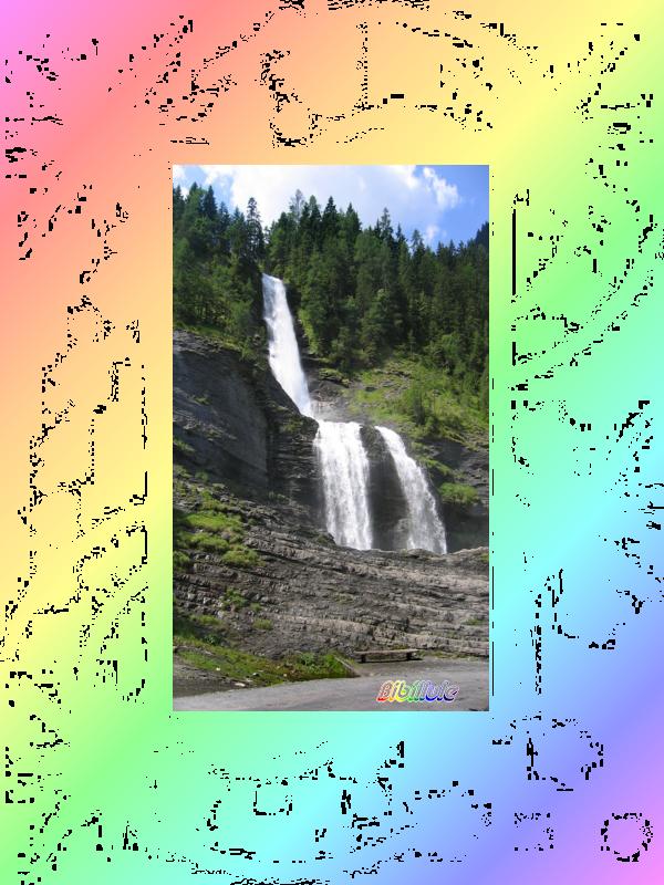La Cascade du Rouget...........ma préférée