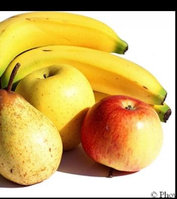 Fruits et légumes à chair blanche éloignent l'AVC