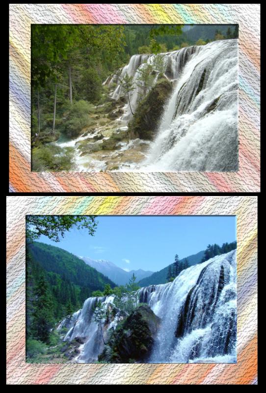 Perle Shoal cascade