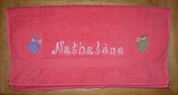 Serviette de bain - Nathalène