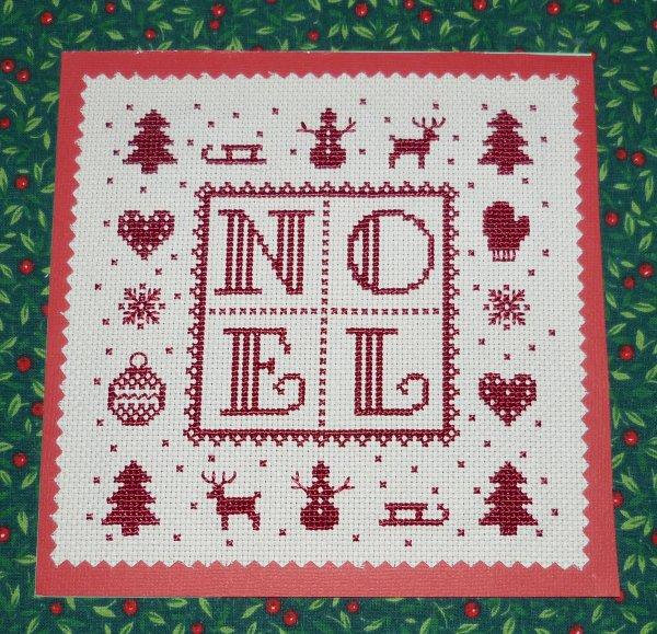 Echange Noël (ce que j'ai envoyé à Minouche)