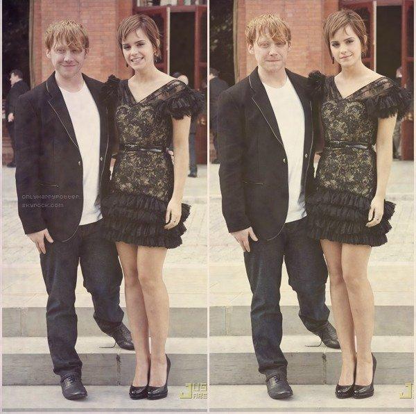 ron hermione