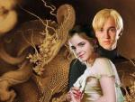 drago hermione;harry hermione