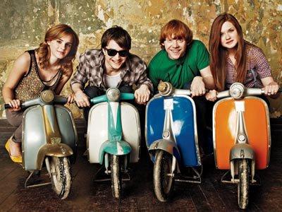 harry hermione,ron cho,neville,jenny,