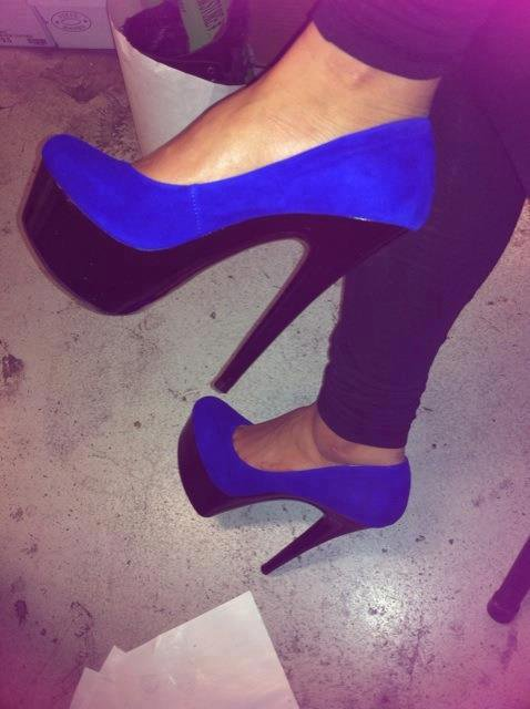 Hello mais new chaussure :D