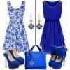 belle couleur en bleu