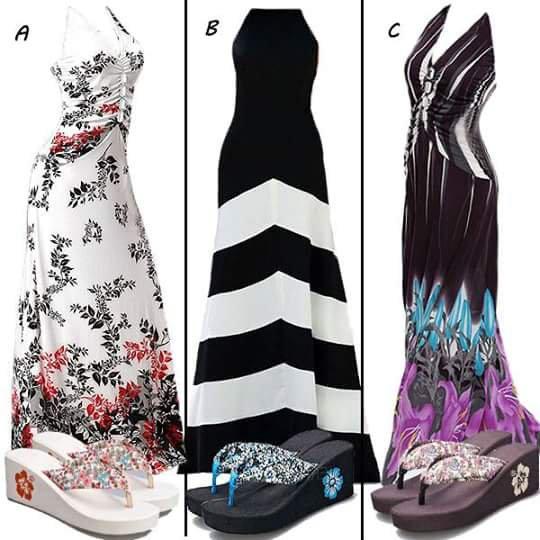 des robes différents