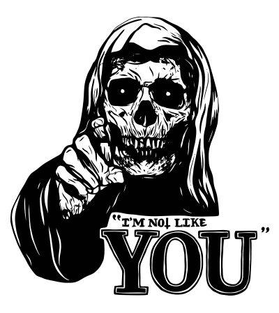Arretez de me juger car je ne suis pas comme vous autres !
