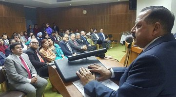 Dr Jitendra Singh allays fears about health hazards from nuclear plants