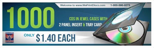 CD Case Printing