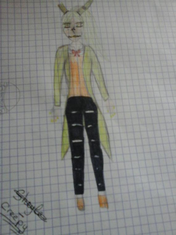 Fnaf: springtrap ( humanoide feminen)