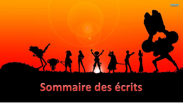 SOMMAIRE !