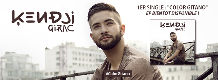 "KENDJI >> 1ER SINGLE : ""Color Gitano"", EP bientôt disponible !"