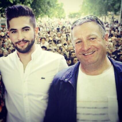 Kendji avec son papa