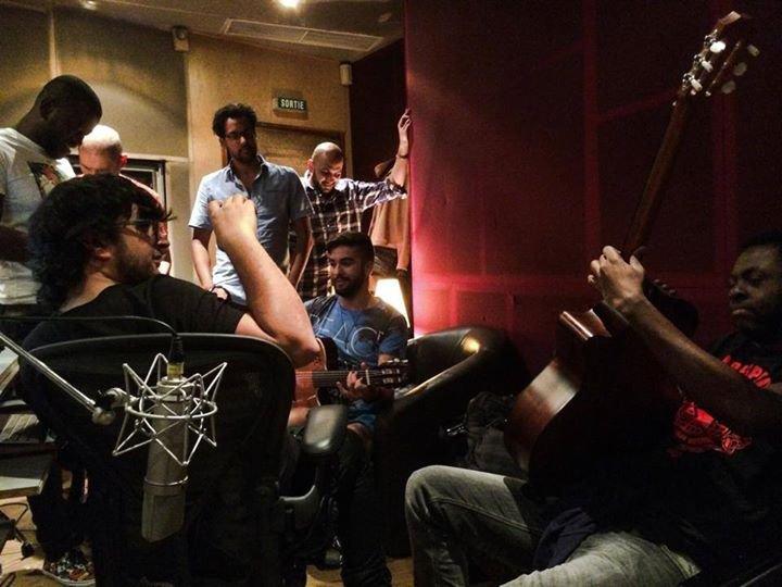 Kendji en studio