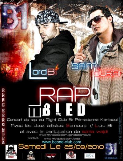 LE 25/09/2010...au Night Club B1 Sousse