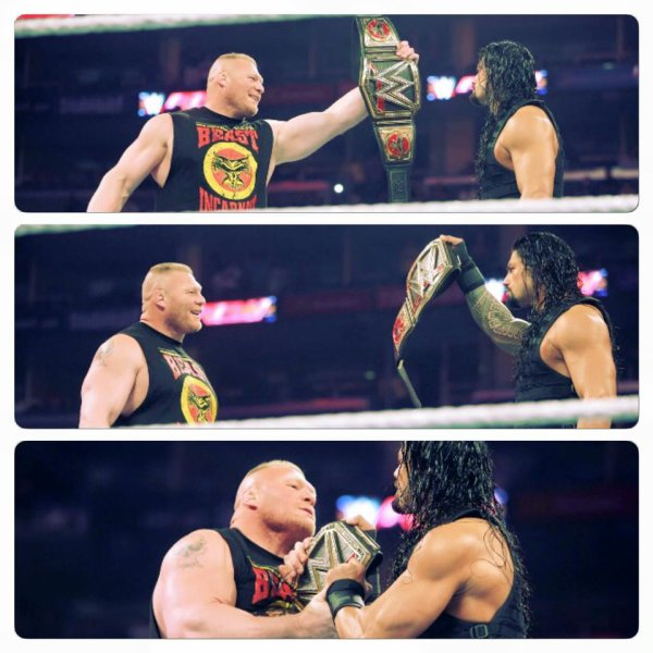 Wrestlemania 31 Main Event .