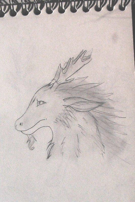 ¤Dessin du Dragon de Cendre¤