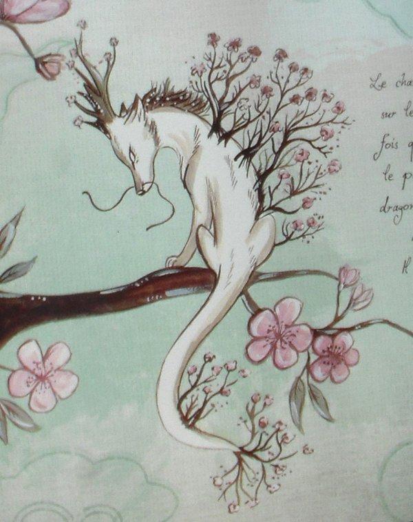 ¤Dessin du Dragon Cerisier¤
