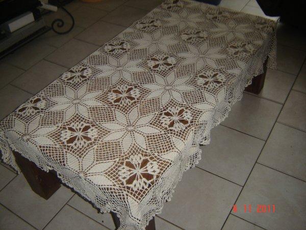 nappe pour table de salon
