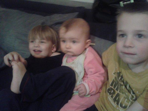 mes trois enfants !!!!!!